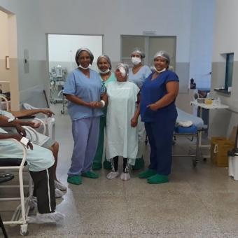 Mutirão de Cirurgias de Catarata no Centro Oftalmológico